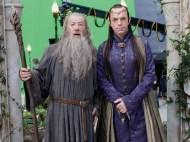 Ian McKellen y Hugo Weaving