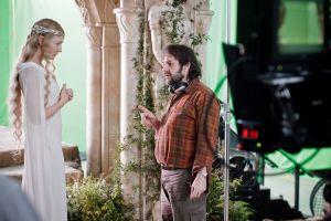 Cate Blanchett y Peter Jackson