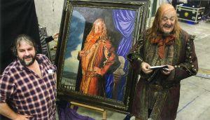 Peter Jackson y Stephen Fry