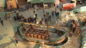 El bote de Bardo y los Enanos