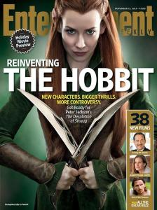 Portada de Tauriel de Entertainment Weekly