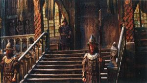 El palacio del Gobernador de Esgaroth
