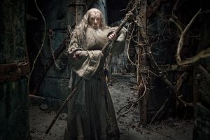 Gandalf en apuros en Dol Guldur