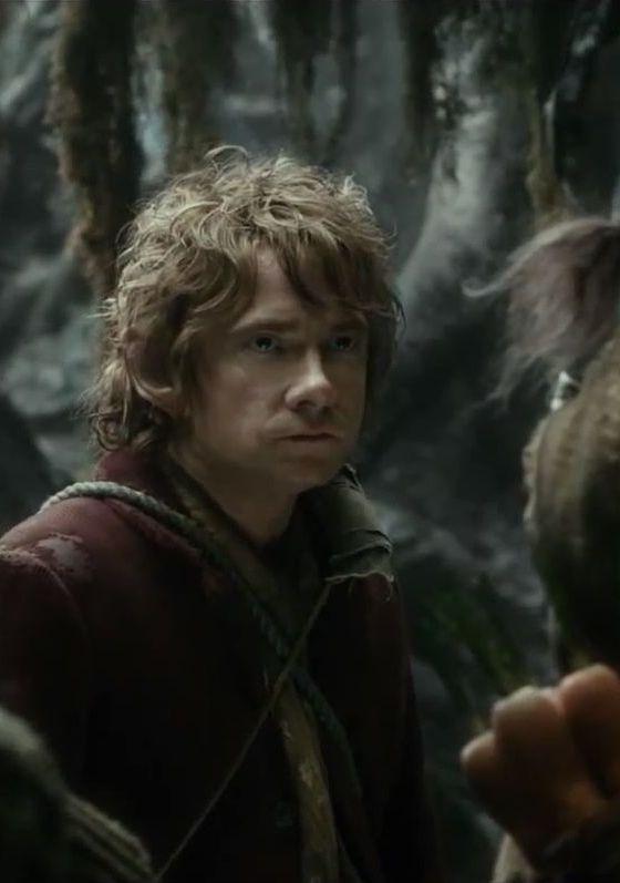 Bilbo, enfadado con los Enanos