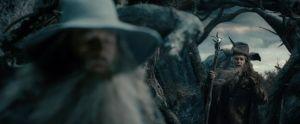 Gandalf y Radagast en Dol Guldur