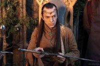 Elrond con Glamdring y Orcrist