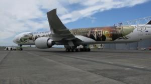 El avión de El Hobbit: Un Viaje Inesperado