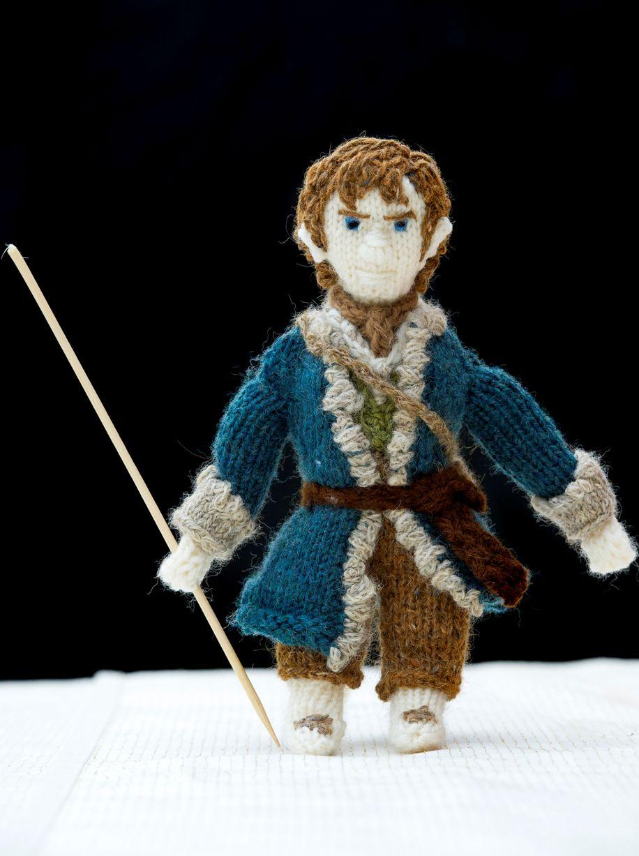 Increíbles muñecos de ganchillo de El Hobbit | El Anillo Único