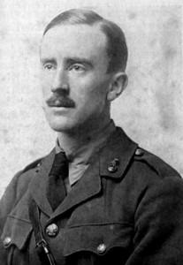J.R.R. Tolkien en 1916