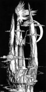 Mary Fairburn - Gandalf en Orthanc