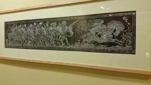 Grabado de Tomás Hijo en La Fortaleza del Anillo