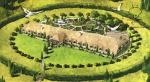 La casa de Beorn, según Opareq