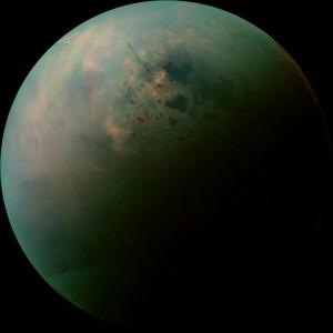 Titán, la mayor de las lunas de Saturno