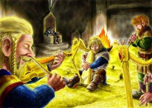 Los enanos cantan en Erebor y calman a Thorin, según NekoHimeAnny