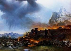 La Cabalgata de los Rohirrim, según Graham Twyford