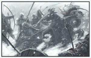 Batalla de la Ciudad de Valle, según Jan Pospisil