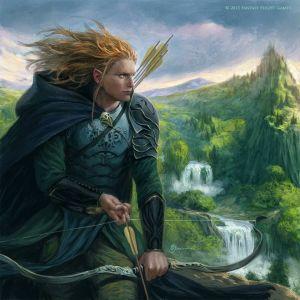 Haldir de Lórien, según Sebastián Giacobino