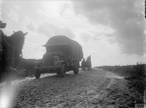 Camino a Ovillers (septiembre 1916). © IWM (Q 1469)