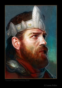 El Rey Elessar, según Fabio Leone