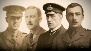 G.B. Smith, J.R.R. Tolkien, Christopher Wiseman y R.Q. Gilson