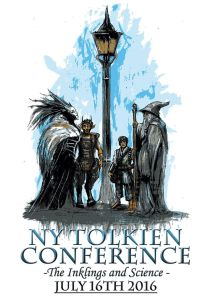 Cartel de la II Conferencia Tolkien en Nueva York