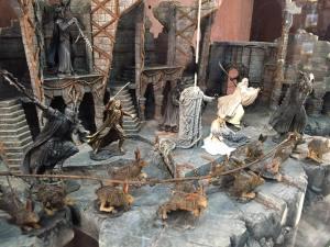 Diorama de Dol Guldur de Weta Workshop