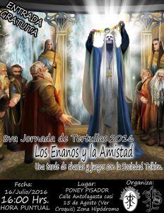 Los Enanos y la amistad, octava Tertulia tolkiendil de la Sociedad Tolkien de Bolivia