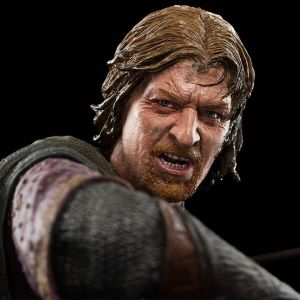 Escultura de Boromir de Weta Workshop