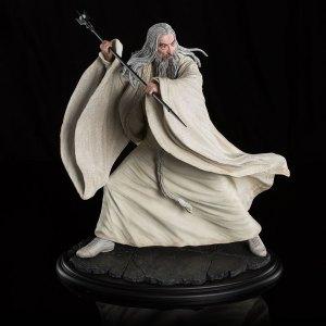 Escultura de Saruman en Dol Guldur de Weta Workshop