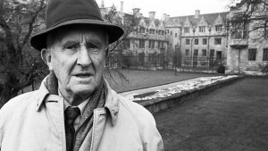 J.R.R. Tolkien en el Merton College