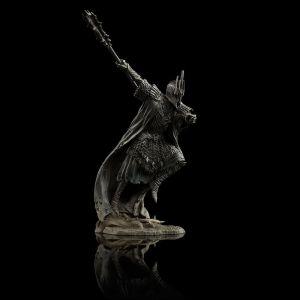Figura de uno de los Nazgûl del diorama de Dol Guldur de Weta Workshop