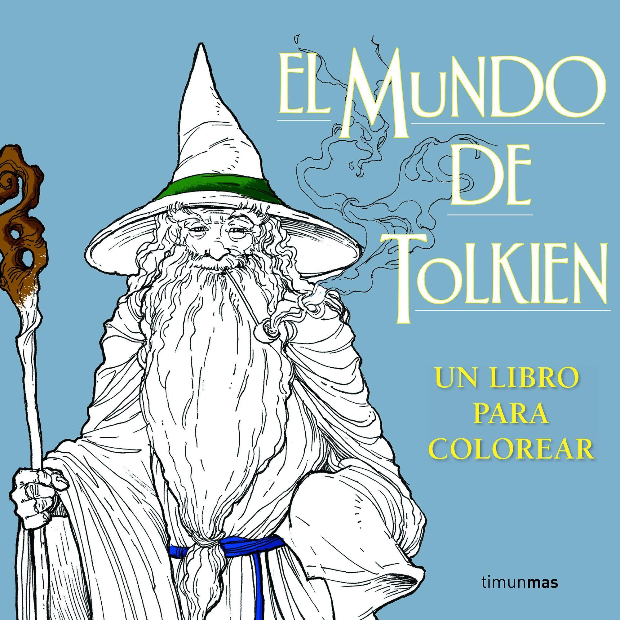 Planeta publica \'El mundo de Tolkien. Un libro para colorear\' | El ...