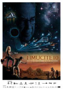 Cartel oficial de la décima edición de FIMUCITÉ