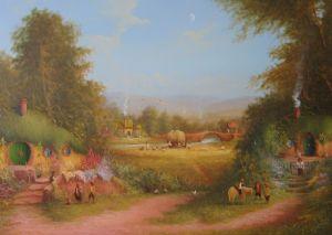 La Comarca, según el artista inglés Joe Gilronan