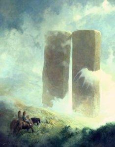 Niebla en la Quebrada de los Túmulos, según Paul Raymond Gregory