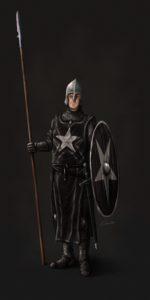 Soldado de Arnor, según Chris Masnaghetti