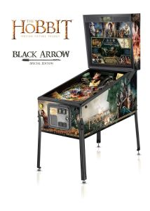Pinball El Hobbit - Edición limitada Flecha Negra de Jersey Jack Pinball