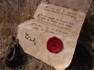 Réplica en español del destierro de Éomer de 'El Señor de los Anillos', creada por apmesa