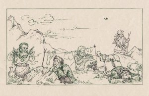 En el umbral, según una artista alemana conocida como riana-art