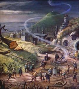 La muerte de Saruman, según Joan Wyatt