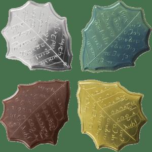 Set de monedas de Eregion de Shire Post Mint (anverso)