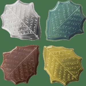 Set de monedas de Eregion de Shire Post Mint (reverso)