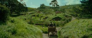 Gandalf llega a Hobbiton