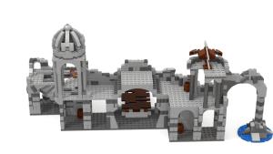 Proponen a Lego la creación de un set de Osgiliath