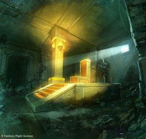 El trono de Durin, según Cristi Balanescu
