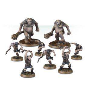 Ogros y Berserkers de Gundabad de Games Workshop