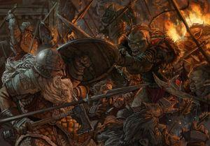 La última resistencia de los enanos en Moria, según Ignacio Corva
