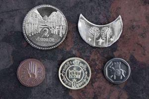 Monedas del set 2 de 'El Señor de los Anillos' de Shire Post Mint