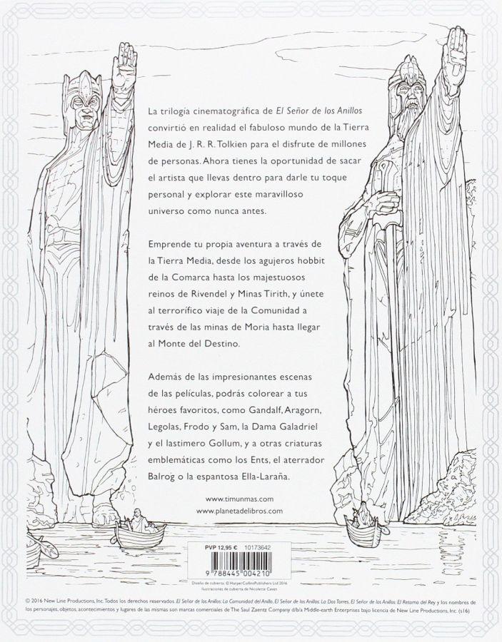 El Señor de los Anillos. Las peliculas. Un libro para colorear\' | El ...