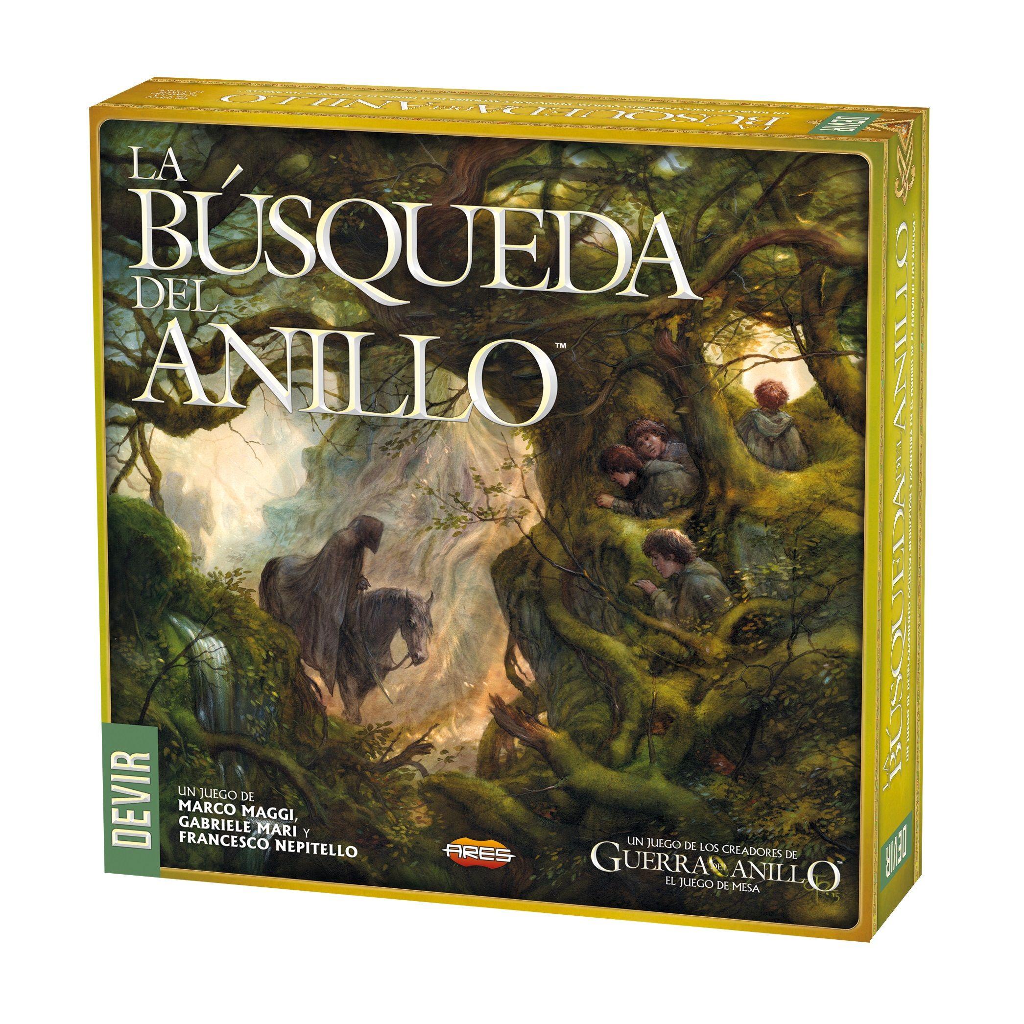 Devir Iberia publicará el juego de mesa La Búsqueda del Anillo | El ...